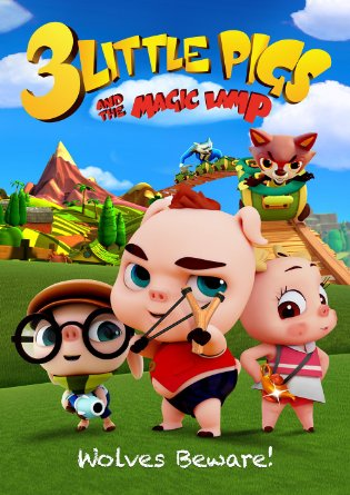 3 Little Pigs and the Magic Lamp| Watch Movies Online