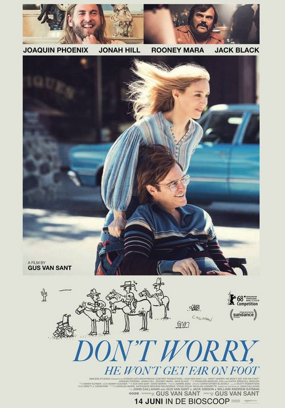 Don't Worry, He Won't Get Far on Foot| Watch Movies Online