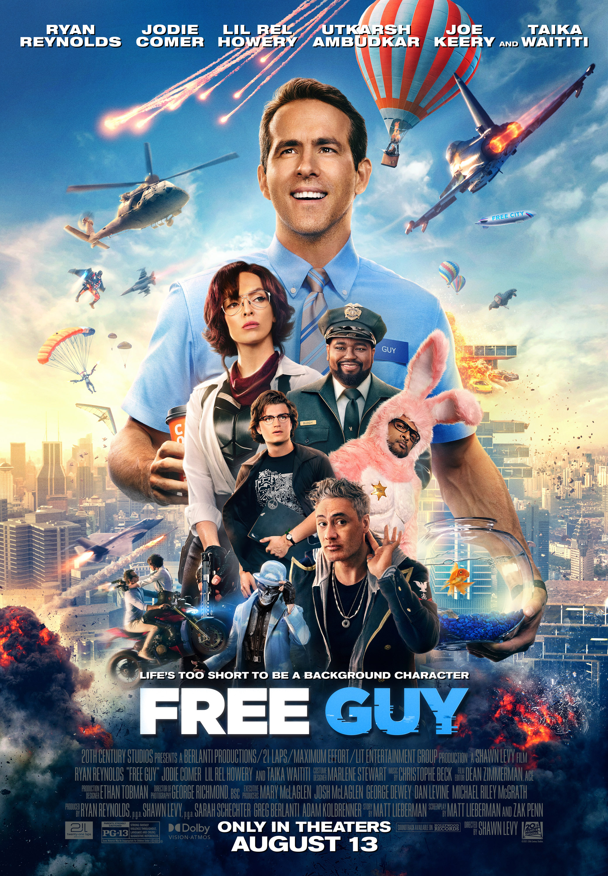 Free Guy| Watch Movies Online