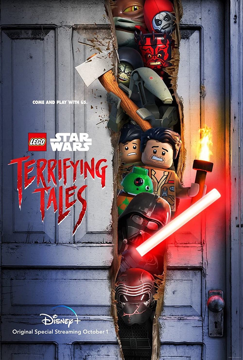 Lego Star Wars Terrifying Tales| Watch Movies Online